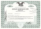 Aircraft Acceptance Corp.