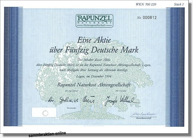 Rapunzel Naturkost Aktiengesellschaft