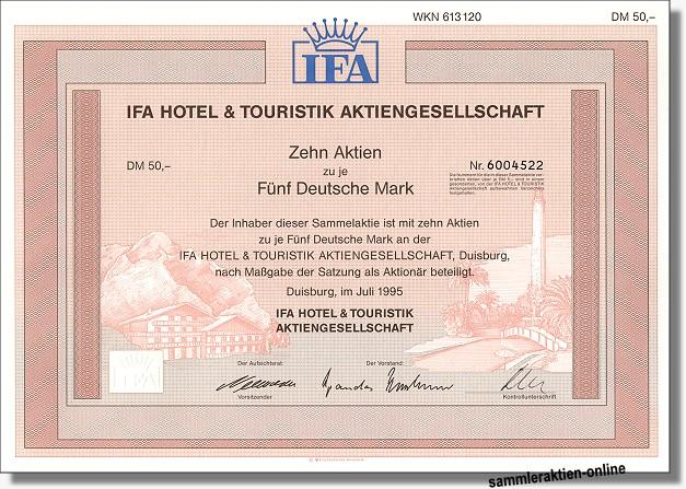 IFA Hotel & Touristik AG