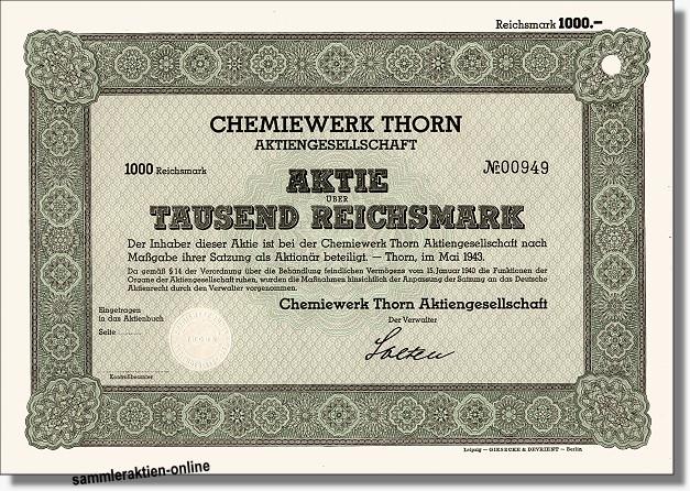 Chemiewerk Thorn AG