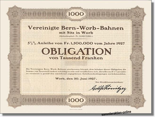 Vereinigte Bern-Worb-Bahnen