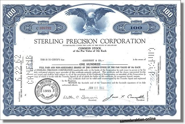 Sterling Precision Corporation