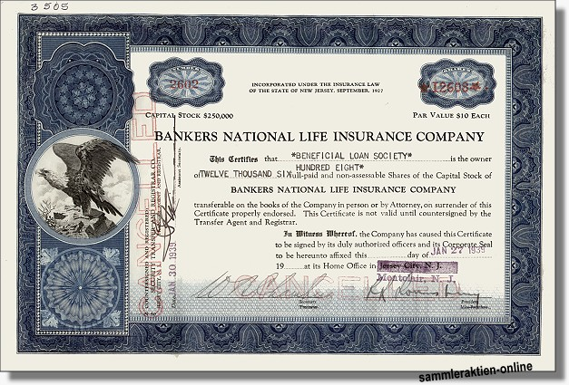 Bankers National Life Insurance Company
