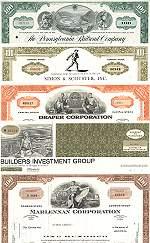 Geschenkset Wirtschaft und Industrie<br>USA Nr.06 - 5 div. Papiere