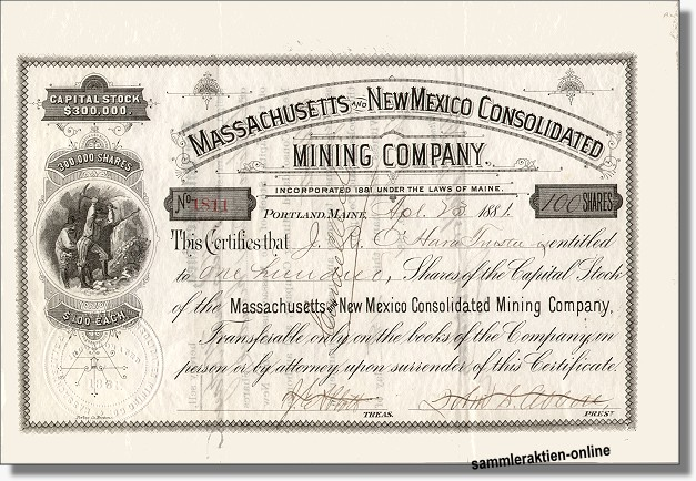 Massachusetts and New Mexico Consolidated