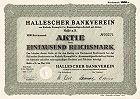 Hallescher Bankverein von Kulisch, Kaempf & Co
