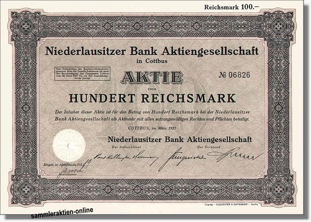 Niederlausitzer Bank AG