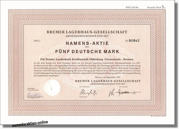 Bremer Lagerhaus-Gesellschaft