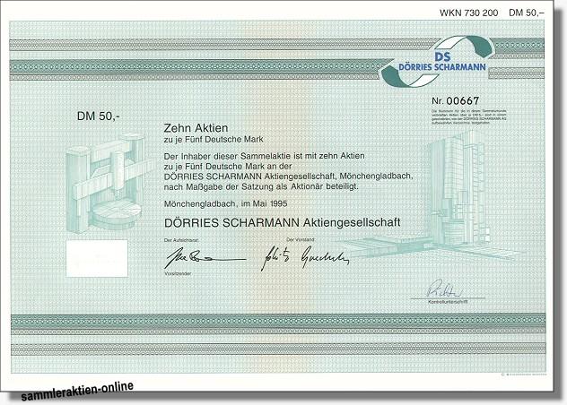 Dörries Scharmann Aktiengesellschaft - DS