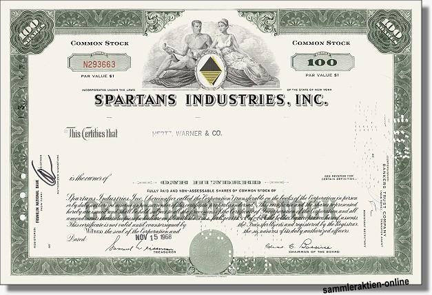 Spartans Industries Inc.