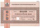 Allgemeine Finanzierungsbank AG