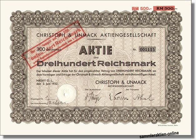 Christoph & Unmack AG