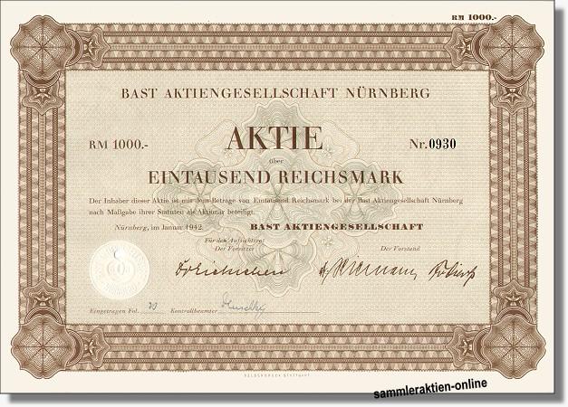 Bast AG - Deutsche Hefewerke
