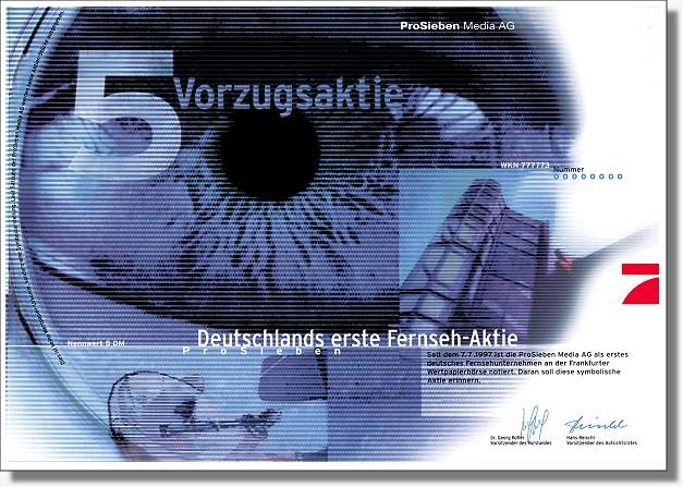 Pro Sieben Media AG - Symbolaktie
