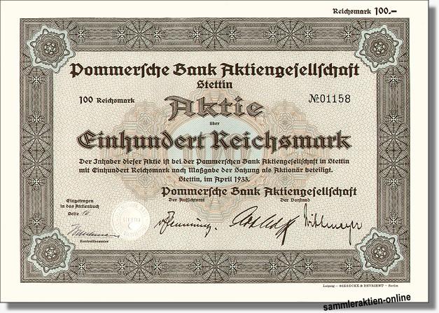 Pommersche Bank AG
