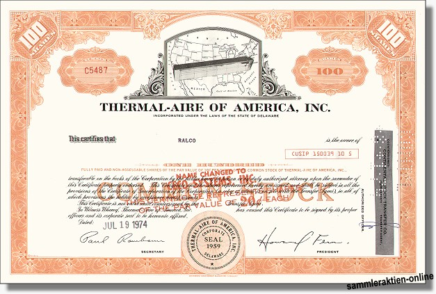 Thermal-Aire of America Inc.