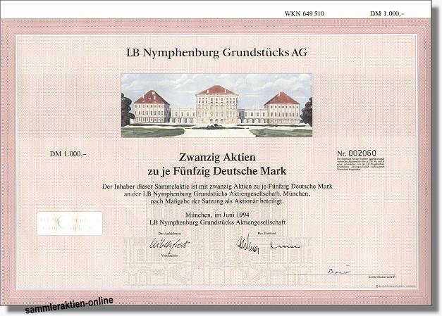LB Nymphenburg Grundstücks AG