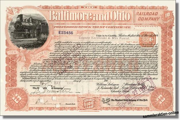 Baltimore and Ohio Railroad Company