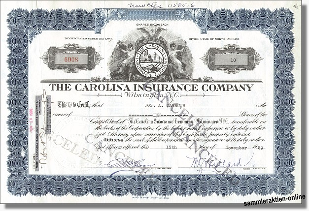 Carolina Insurance Company