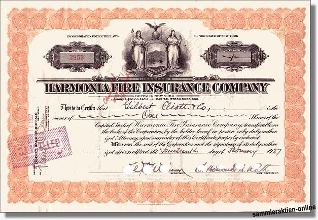Harmonia Fire Insurance Company
