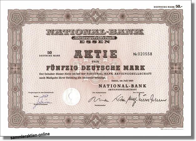 National-Bank Aktiengesellschaft