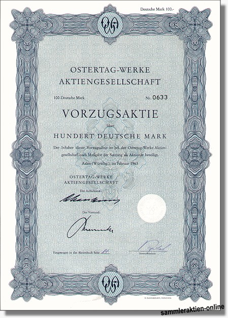 Ostertag-Werke AG