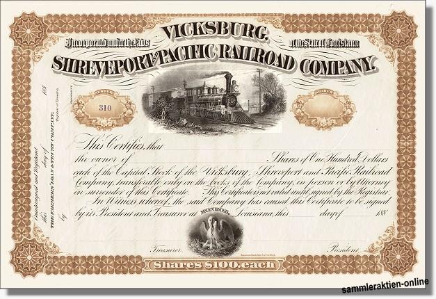 Vicksburg, Shreveport and Pacific Railroad Company