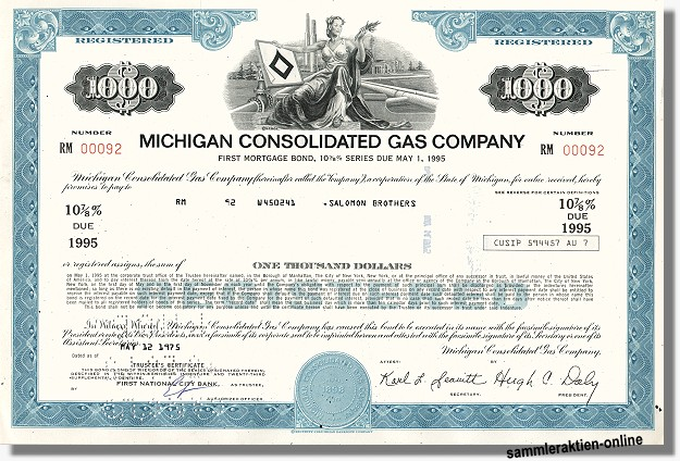 Michigan Consolidated Gas Company