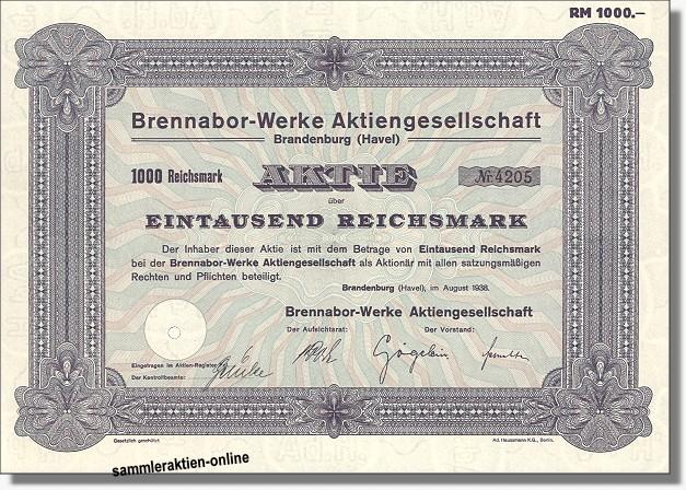Brennabor-Werke AG