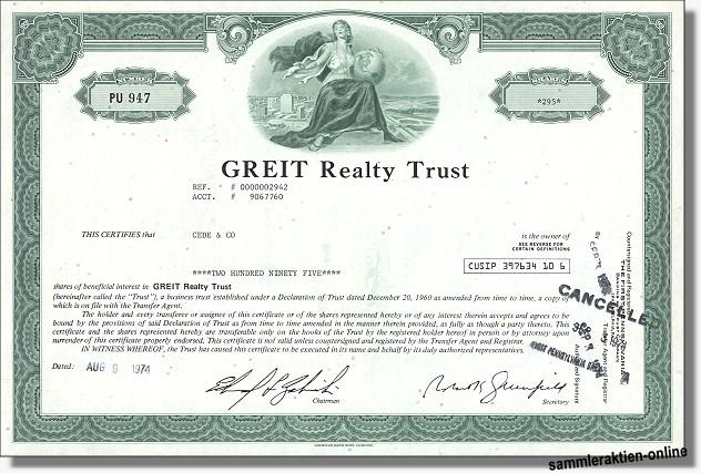 GREIT Realty Trust