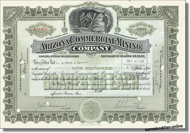 Arizona Commercial Mining Company