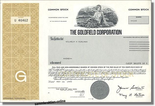 Goldfield Corporation