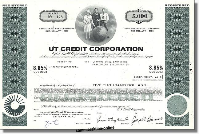 UT Credit Corporation - United Technologies