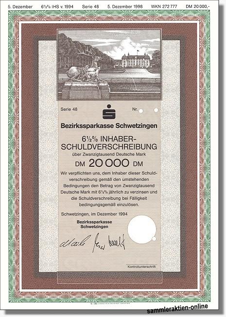 Bezirkssparkasse Schwetzingen