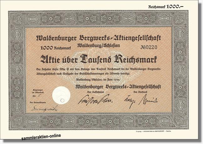 Waldenburger Bergwerks-AG