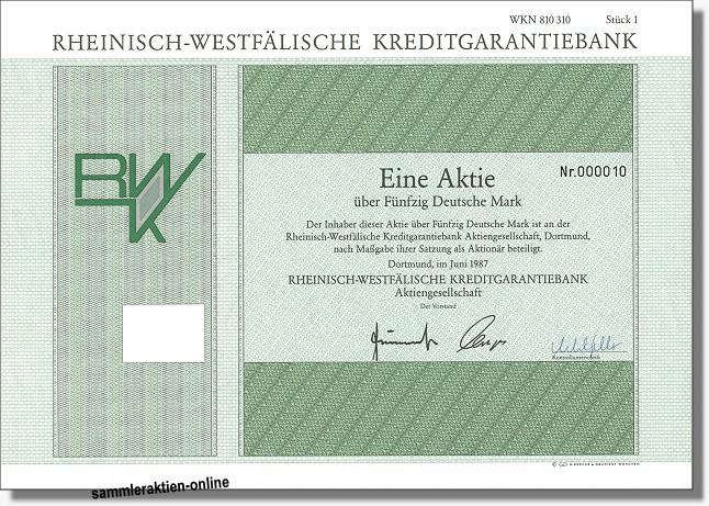Rheinisch-Westfälische Kreditgarantiebank
