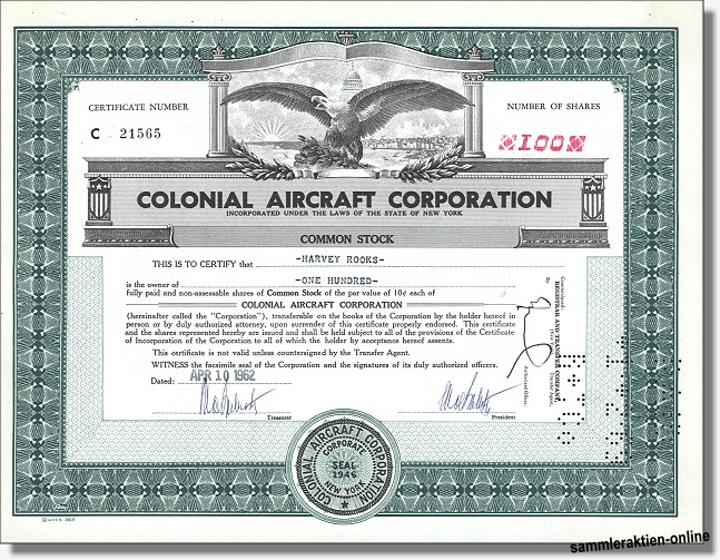 Colonial Aircraft Corporation