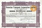 Peruvian Transport Corporation Limited