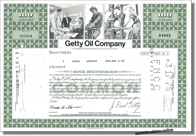 Getty Oil Company
