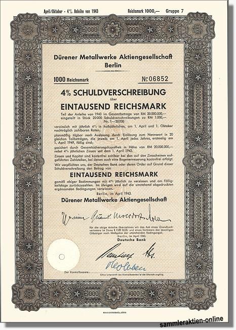 Dürener Metallwerke AG