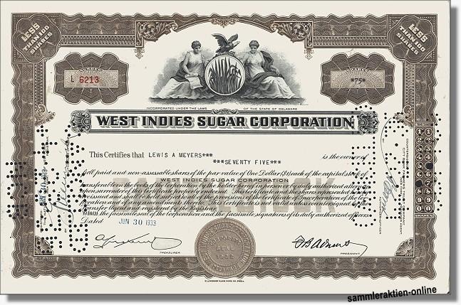 West Indies Sugar Corporation