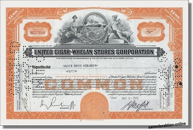United Cigar-Whelan Stores Corporation