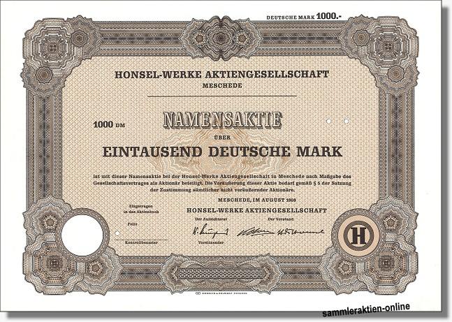 Honsel-Werke AG