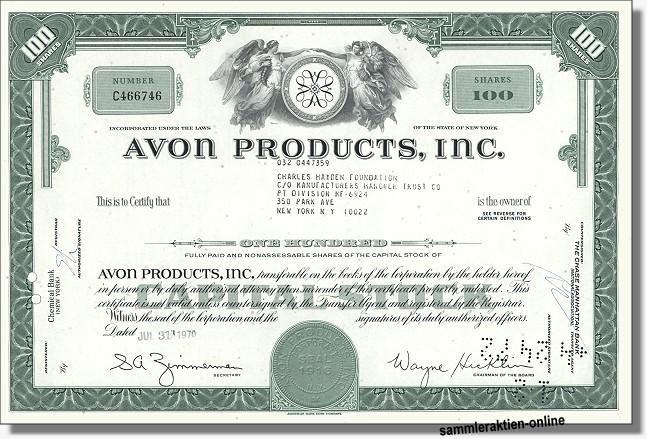 Avon Products inc.