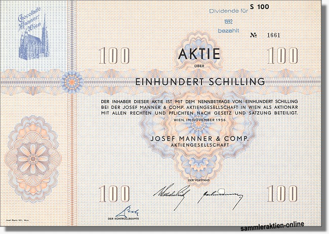 Josef Manner & Comp. Aktiengesellschaft