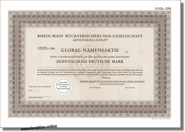 Rhein-Main Rückversicherungs-Gesellschaft