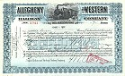 Allegheny and Western Railway Company