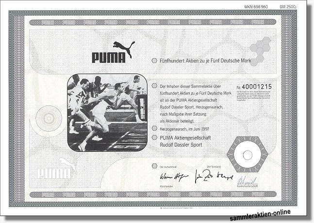 Puma Aktienkurs