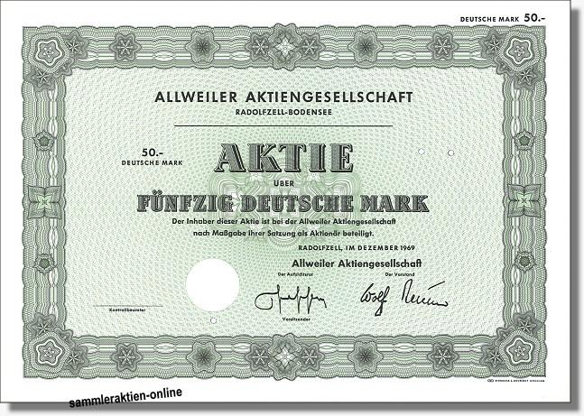 Allweiler Aktiengesellschaft