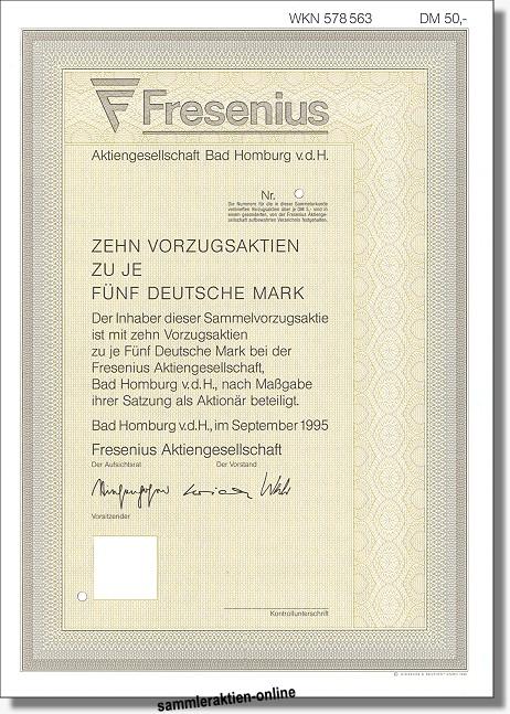 Fresenius Aktiengesellschaft